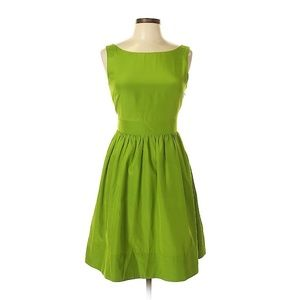 Anthropologie Dresses - Anthropologie Hitherto Green Sleeveless Dress Sz 6